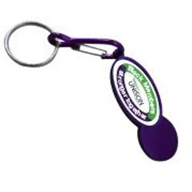Picture of Shopper Trolley Coin Keyring