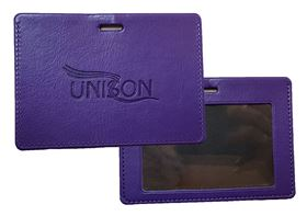Picture of Purple ID Card Holder