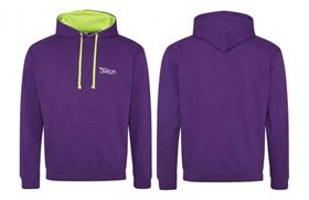 Picture of Purple Hoodie with Green trim