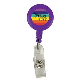 Picture of Rainbow Yo-Yo Badge Reel