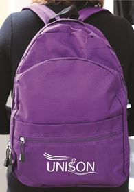 Picture of Purple Backpack