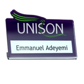 Picture of Acrylic Name Badge